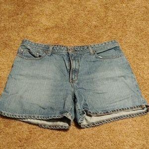Polo Jean shorts size 14